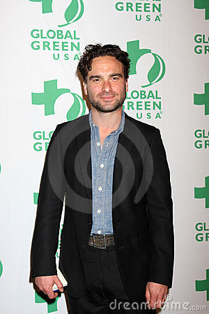 Johnny Galecki Editorial Image