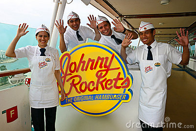 Johnny Rockets on the Editorial Photo