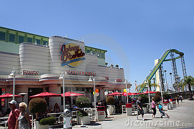 Johnny Rockets Editorial Stock Photo