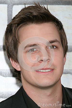 Johnny Simmons Editorial Stock Image