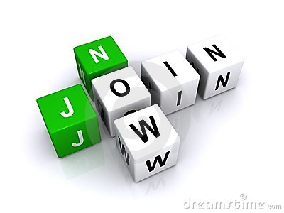 Join now sign