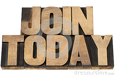 Join today in wood type