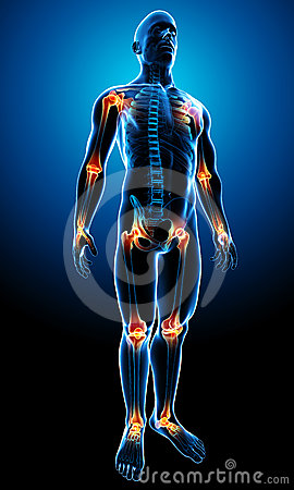 Free Joint Pain Royalty Free Stock Photography - 24349507