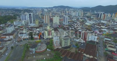 Joinville city, Santa Catarina state of Brazil. Cities in South America. Brazilian Cities stock video footage