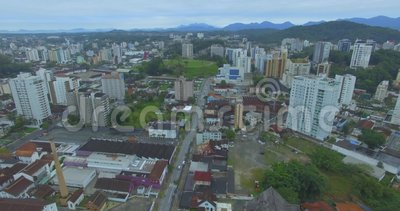 Joinville city, Santa Catarina state of Brazil. Cities in South America. Brazilian Cities stock video