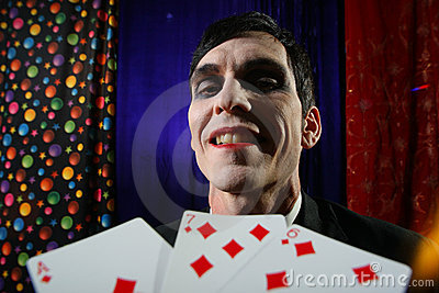 Joker and cards