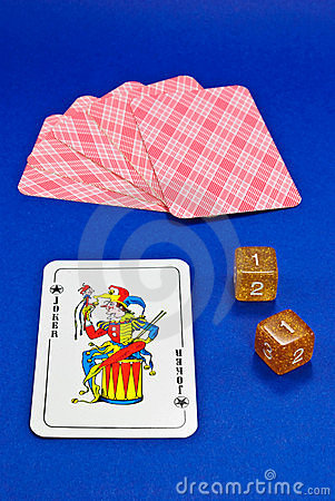 Joker Cards and Dice