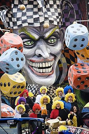 Joker choir Editorial Stock Image