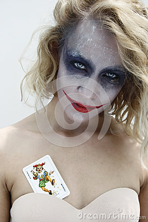 Free Joker Face 3 Royalty Free Stock Photo - 31397425