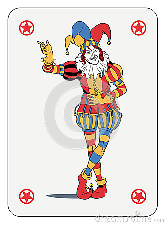 Free Joker Playing Card Stock Image - 37077211