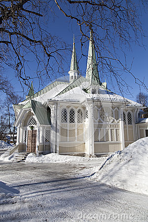 Free Jokkmokk Church Royalty Free Stock Images - 52402639
