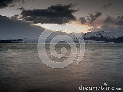 Jokulsarlon ,iceland Stock Photo