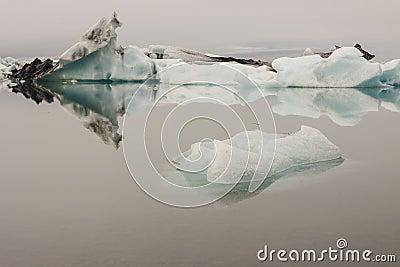 Jokulsarlon lagoon - Iceland. Beauty place.