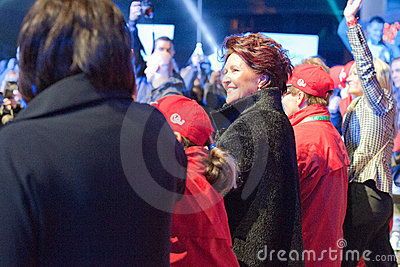 Jolanta Kwasniewska - Poland s First Lady Editorial Stock Image