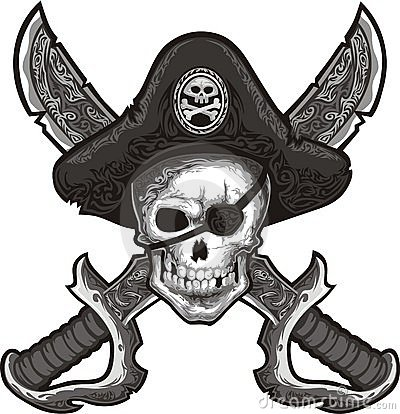 Free Jolly Roger Stock Photography - 10929862