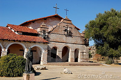 Jolon, CA: San Antonio de Padua Church