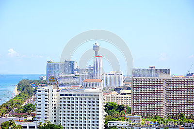 Jomtien in Pattaya, Thailand Editorial Stock Image