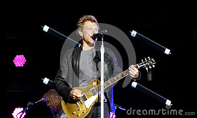 Jon Bon Jovi Editorial Stock Image