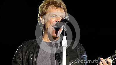 Jon Bon Jovi Editorial Photography