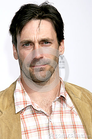 Jon Hamm Editorial Stock Photo