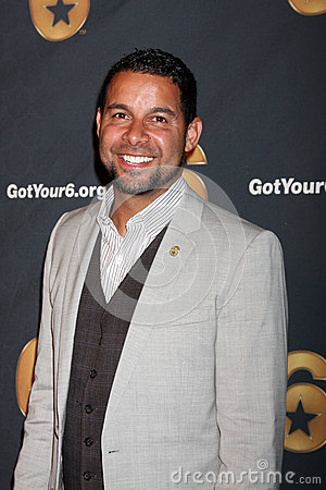 Jon Huertas arrives at the Launch of Got Your 6 Editorial Photo