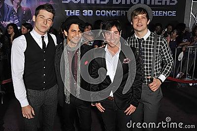 Jonas Brothers, Honor Society Editorial Photography