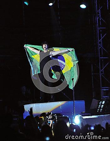 Jonas Brothers Rock Concert Editorial Image