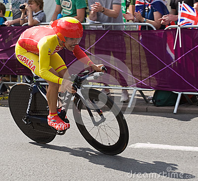 Jonathan Castroviejo Nicolás  in the Olympics Editorial Stock Photo