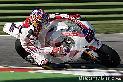 Jonathan Rea - Honda CBR1000RR - Honda World Super Editorial Image