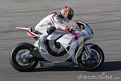 Jonathan Rea - Honda CBR1000RR - Honda World Super Editorial Stock Image