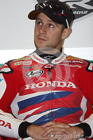 Jonathan Rea - Honda CBR1000RR - Honda World Super Editorial Image