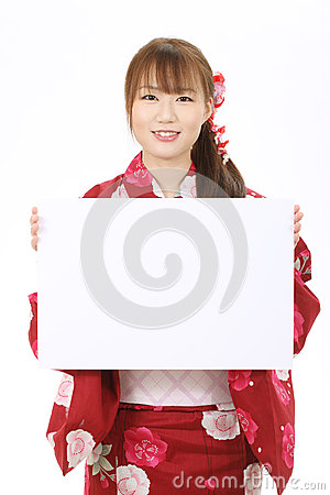 Jonge Aziatische vrouw