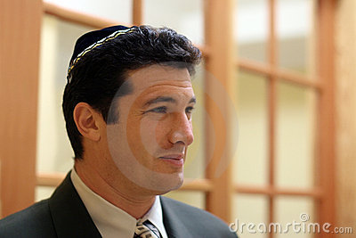 Jonge Joodse mens