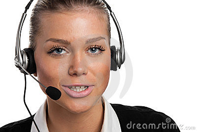 Jonge telefoonexploitant