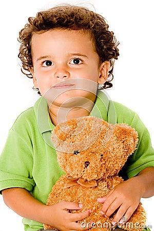 Jongen met Teddy