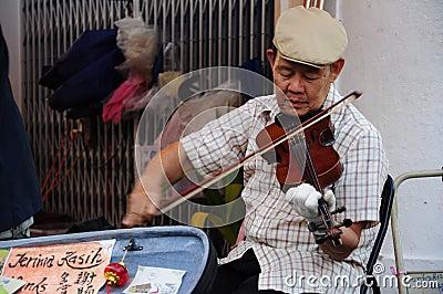 Jonker Street Malacca Editorial Photo