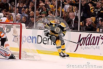 Jordan Caron Boston Bruins Editorial Image