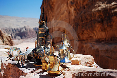 Jordan coffee pots view