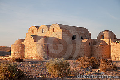 Jordan, desert castle