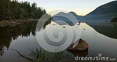 Jordan Pond Dawn, Acadia