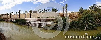 Jordan river panorama