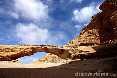Jordan rumu wadi desert
