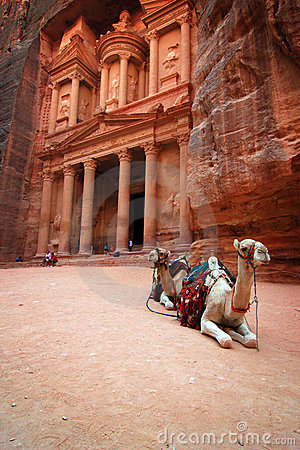 Free Jordan: Treasury In Petra Royalty Free Stock Images - 7603779