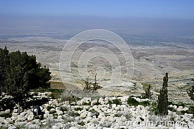 Jordan valley.