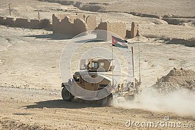 Jordanian Army HMMWV