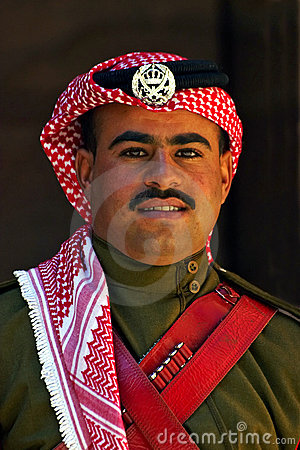 A Jordanian guard Editorial Photography