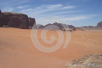 Jordanien-Wüste