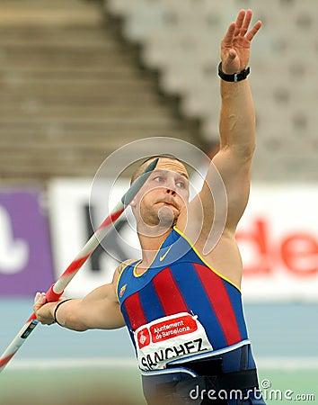 Jordi Sanchez of FC Barcelona Editorial Photography