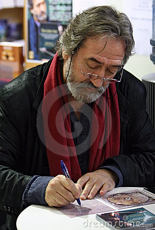 Jordi Savall in Paris Editorial Stock Image