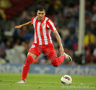 Jose Antonio Reyes of Atletico Madrid Editorial Photo